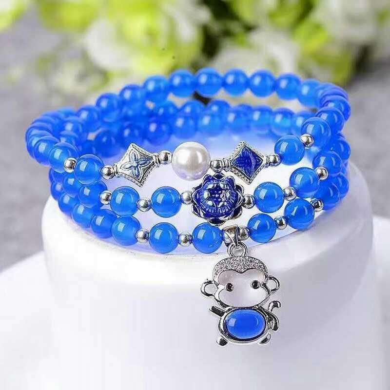 Красота и мистика голубого агата