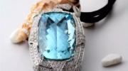 Ювелирные изделия и украшения с аквамарином