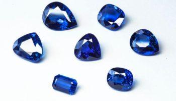 Как называются и выглядят голубые драгоценные камни